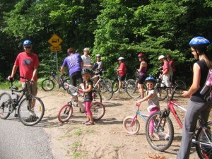 Stanhope Heritage Cycling Tour 2012 welcomed participants aged 4 through 74.